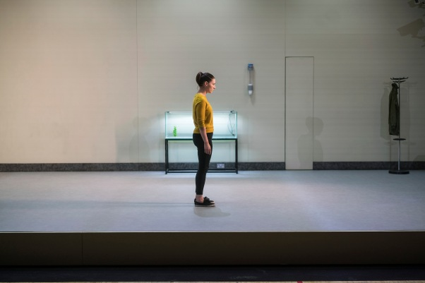 Charlie Murphy in Arlington. Landmark Productions and Galway International Arts Festival present Arlington a new play by Enda Walsh. World premiere 11 July in a specially-constructed theatre space at Leisureland, Salthill, Galway. Photo by Patrick Redmond